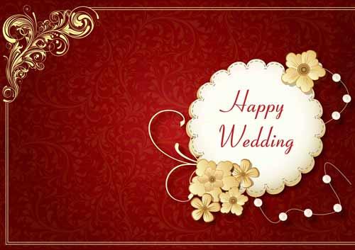 การ์ดแต่งงานสวยสวย