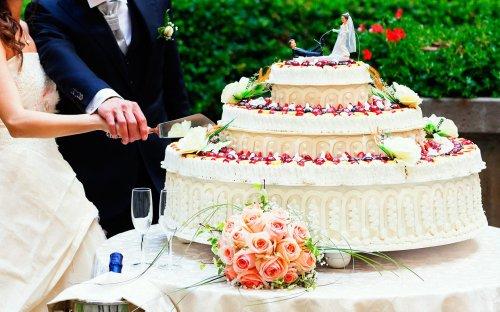 การตัดเค้กแต่งงาน